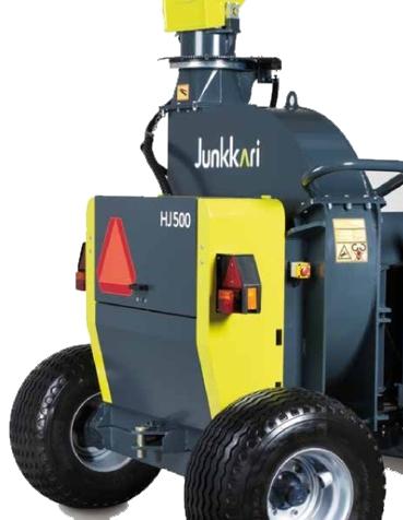 Le HJ500 vient sur une plateforme mobile facile à tracter