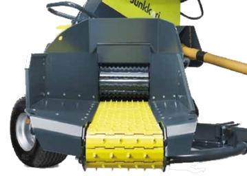 Ouverture large pour le gros chipper HJ500