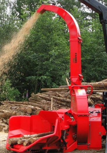 Le CH380 est un broyeur biomasse efficace et robuste