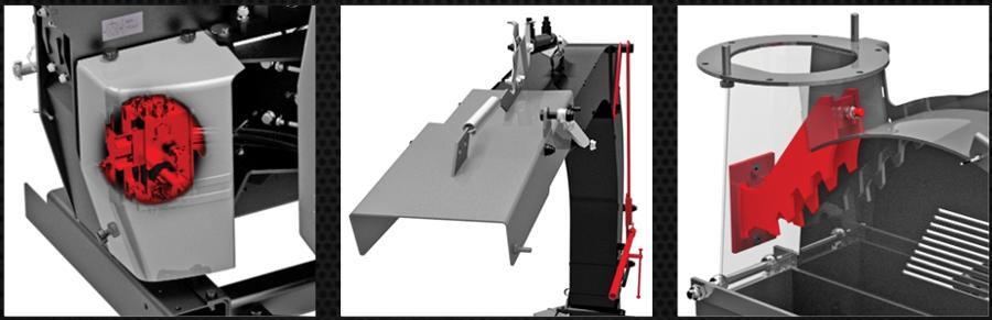 Confort d'utilisation et de maintenance pour le chipper CH27